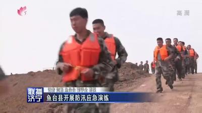 鱼台县开展防汛应急演练