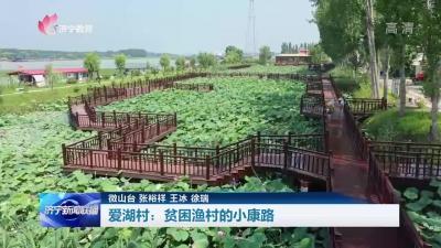 奋斗百年路 启航新征程 | 微山县爱湖村:贫困渔村的小康路