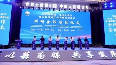 以蒜為媒·共享發展丨第21屆中國?金鄉大蒜節開幕