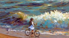《夏天里的自行車》