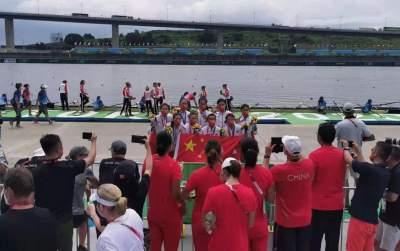 济宁舵手,奥运铜牌!
