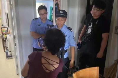 """""""假""""警察来电""""真""""警察上门 邹城警方成功拦截一起电信诈骗案件"""