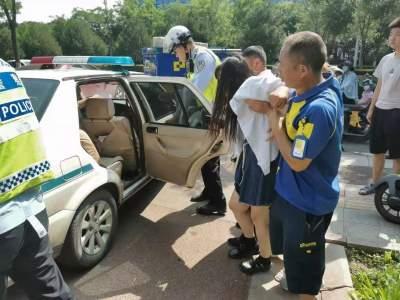 北湖交警開辟綠色通道 5分鐘將受傷人員送達醫院
