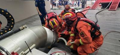 抵达开封!澳门威尼人在线消防正在救援!