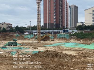 五处建筑工地扬尘污染被曝光 济宁将依法实施严管重罚