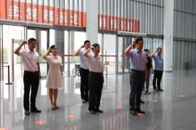 【黨史學習教育】市文聯機關全體黨員干部到濟寧市檔案館實地參觀學習