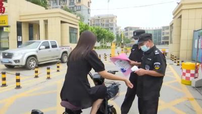 黃屯街道:疫情防控常態化 當好居民安全守門人