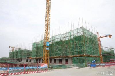 總建筑面積34.8萬平方米,濟寧這個項目計劃年底完成主體封頂
