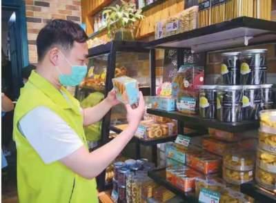 關帝廟社區開展夏季食品安全生產監管行動