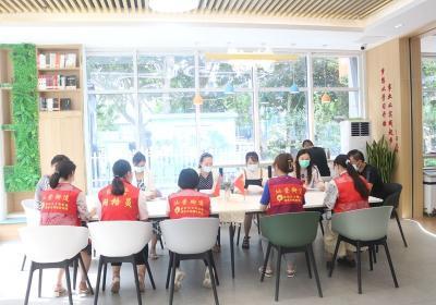 仙营街道走进运河书屋开展新时代文明实践志愿服务