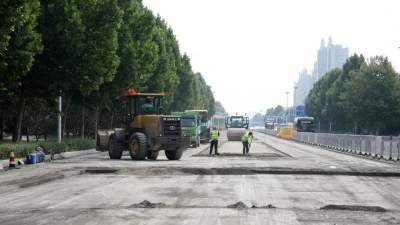 最新进展丨孟子大道(如意大桥-康泰路)大修工程全力冲刺
