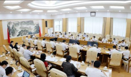 山東省對外開放工作領導小組召開第一次會議