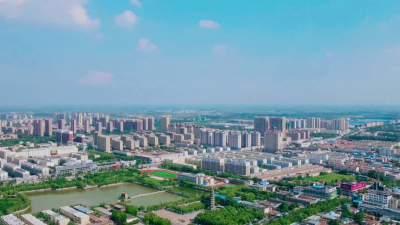 林在城中 城在綠中,金鄉縣打造綠色城市生態景觀
