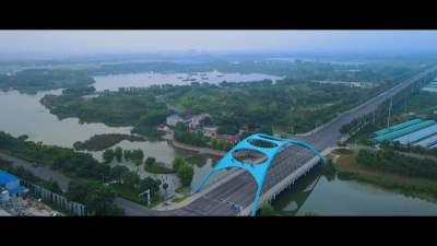 金鄉:鳥瞰萬福湖 風景無限
