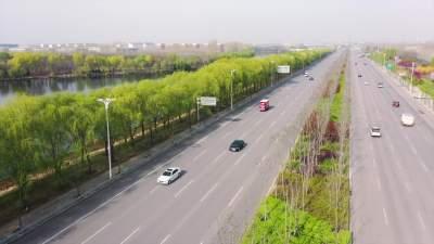 碧水生態潤美城 梁山新城區真是太美了!