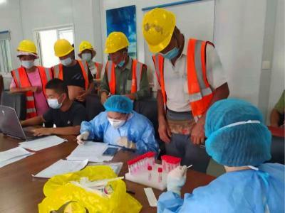 """核酸檢測進工地!太白湖新區人民醫院還將為這些人員""""上門檢"""""""