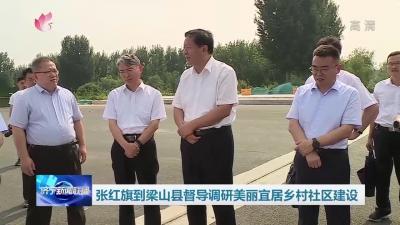 张红旗到梁山县督导调研美丽宜居乡村社区建设