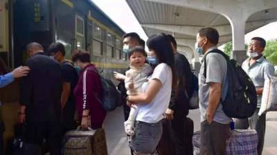 中秋國慶期間,兗州火車站將增開六對臨客滿足旅客出行需求
