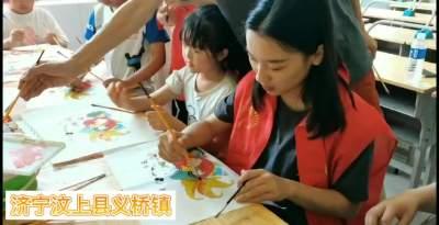 楊柳青年畫進校園 帶孩子們領略非遺的魅力