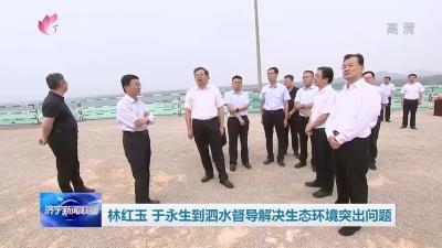 林红玉、于永生到泗水督导解决生态环境突出问题