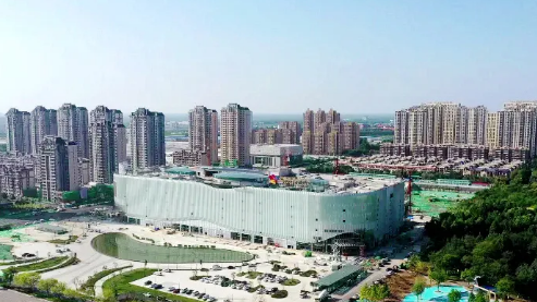 咱济宁又多了几个网红打卡地!红星爱琴海购物公园预计9月底试运营