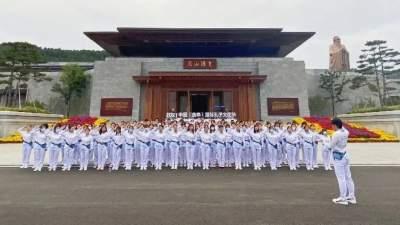 青年志愿者誓师出征 全力服务2021中国(曲阜)国际孔子文化节 第七届尼山世界文明论坛