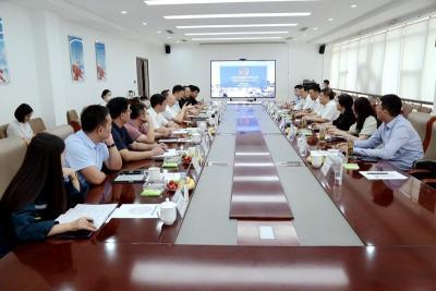 豐家雷帶隊推動濟寧能源與榮信集團產業合作