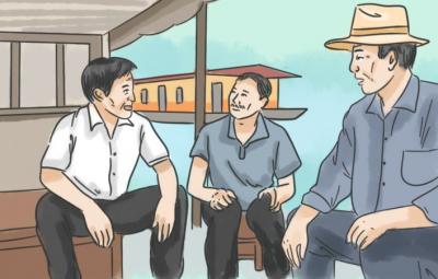 漫画   孙茂东:微山湖上好支书