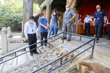 中國文化遺產研究院山東曲阜石窟寺及石刻保護基地揭牌