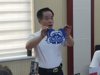 傳承剪紙藝術 弘揚傳統文化