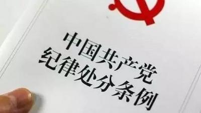 胡玉松严重违纪违法被开除党籍和公职