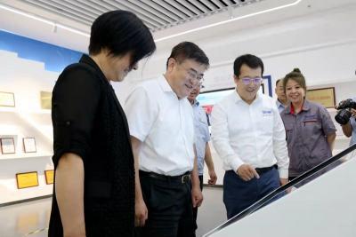 豐家雷帶隊調研濟寧能源高端制造產業項目