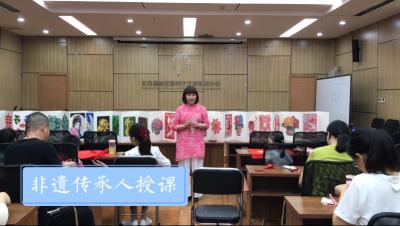 国庆七天乐 非遗课堂最快乐