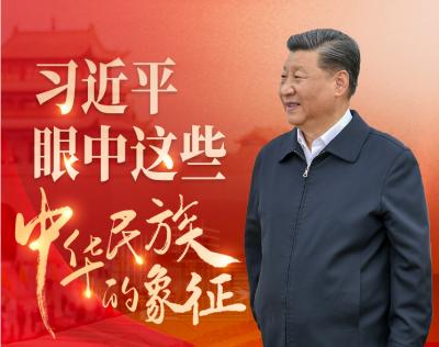 """學習進行時 習近平眼中這些""""中華民族的象征"""""""