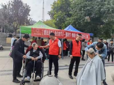 嘉祥县这个小区的老人这样过重阳节